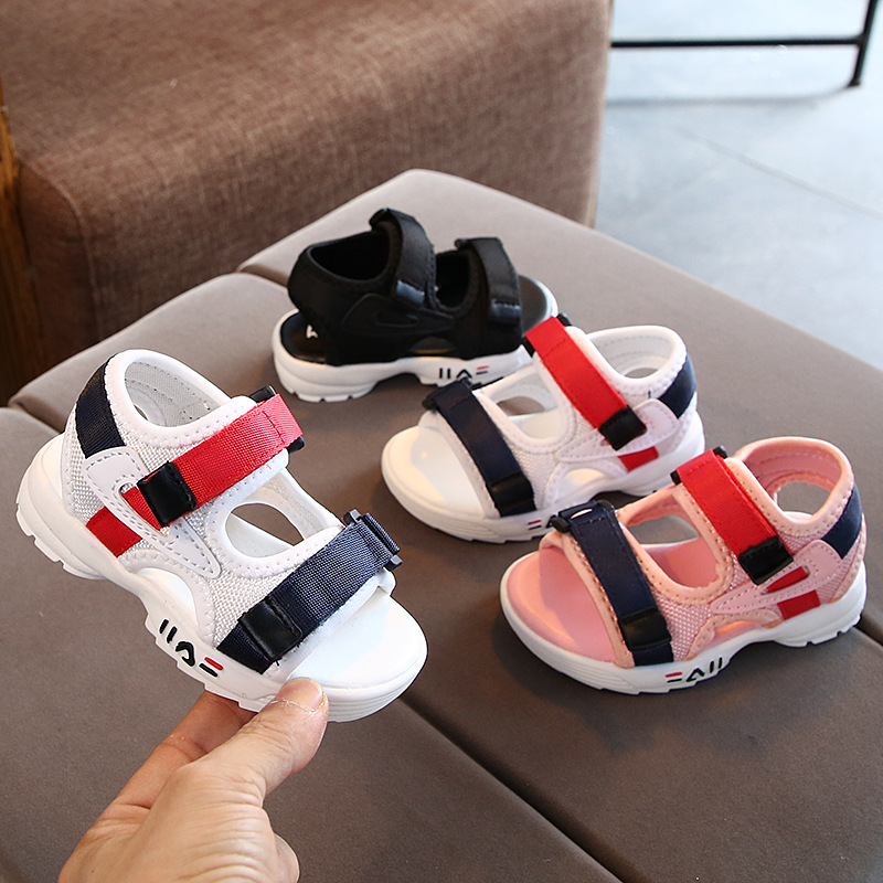 Summer Sandals Girls Leather Shoes 2020 Fashion Toddler Boys Beach Sandals Colorful Children Baby Shoes Kids Sandals For Boys
