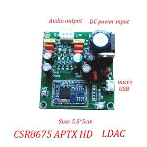 Image 2 - Lusya Csr 8675 Bluetooth 5.0 modulo di ricezione Audio PCM5102A modulo di decodifica DAC supporto scheda APTX HD o LDAC T1310