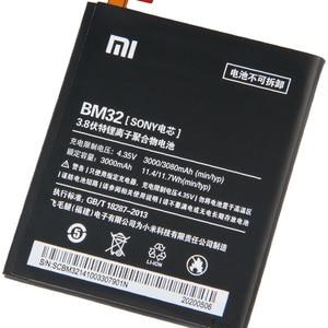 Image 4 - Batteria di Ricambio originale Per Xiaomi Mi 4 M4 Mi4 BM32 Genuino Batteria Del Telefono 3080mAh