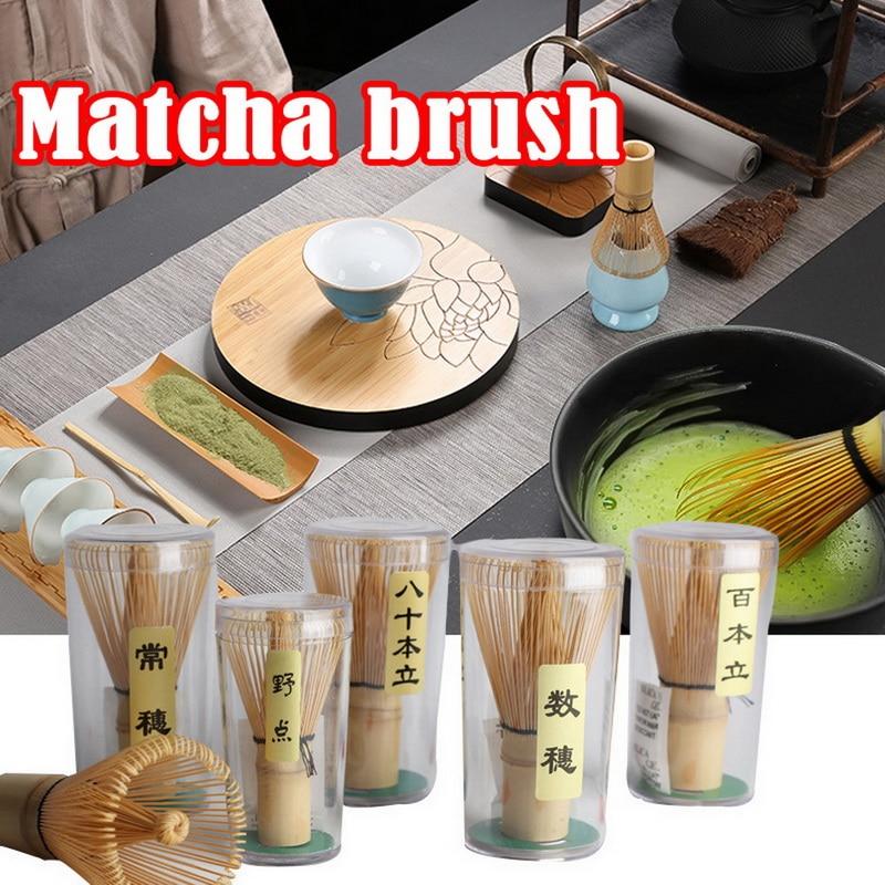 1 шт. Matcha зеленый чайный венчик для пудры Matcha бамбуковый венчик бамбуковая чайная палочка Полезная щетка инструмент кухонные аксессуары