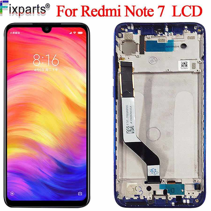 New Display Xiaomi <font><b>Redmi</b></font> <font><b>Note</b></font> <font><b>7</b></font> <font><b>LCD</b></font> <font><b>Note</b></font> <font><b>7</b></font> <font><b>Pro</b></font> Display Touch Screen Digitizer Assembly For xiaomi <font><b>Redmi</b></font> Note7 <font><b>LCD</b></font> image