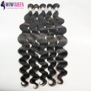 32 34 36 40 Inchs волнистые пряди WowQueen 30 дюймов Пряди Remy человеческие волосы пряди высшего качества Braizlian пряди волос