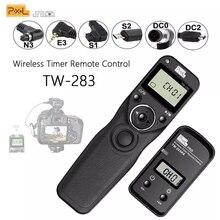 ピクセルTW 283 ワイヤレスタイマーリモートコントロールシャッター (DC0 DC2 N3 E3 S1 S2) ケーブルキヤノンニコンソニーカメラTW283 vs RC 6
