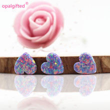 Opal-Pendant Hamsa Heart Cross And for Link To Pay Shapes Synthetic