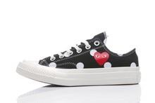 Converse – all star Cdg Converse1970s chaussures de Skateboard unisexes, chaussures à pois pour loisirs quotidiens
