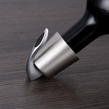 Stainless Steel Wine Bottle Stopper Vacuum Red Wine Cap Sealer Fresh Keeper Bar Tools Bottle Cover Kitchen Accessories(China)