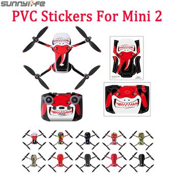 DJI Mini 2 naklejki pcv wodoodporna skóra ochronna Drone Body Arm pilot Protector dla DJI Mavic Mini akcesoria tanie i dobre opinie SUNNYLIFE CN (pochodzenie) MAVIC NINI 2