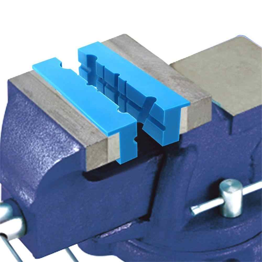 6/'/'//4.5/'/' Magnetic Vise Protector Protective Jaws Face Pad Multi-Groove type 2X