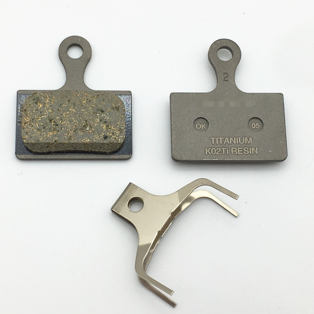 BR-RS505 Road Disc Calipers BR-RS805 Shimano K04Ti Metal Disc Brake Pads for Flat Mount BR-R9170