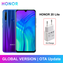 Huawei Honor 20 Lite Smartphone 4GB 128GB Global Version Front 32MP Camera 6.21i