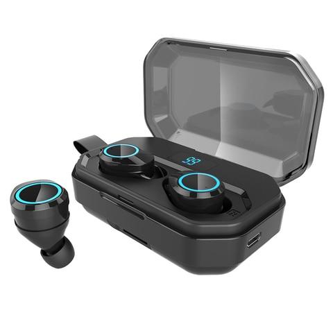 Bluetooth 5.0 Headset TWS Wireless Earphones Twins Earbuds 5D Stereo Headphones Lahore