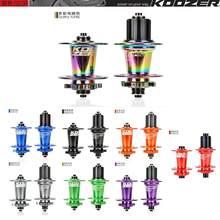 Koozer-bujes traseros xm490 pro para a bicicleta de montaña, 4 rodamientos, 9x100mm,10x135mm, qr100 x 15, 12x142mm, 32 orifícios