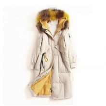 E Duck Down Jacket Women Winter 2020 Outerwear Coats Female