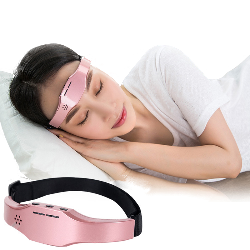 Sleep Monitor Migraine Relief Massager Insomnia Therapy Release Electric Head Massager