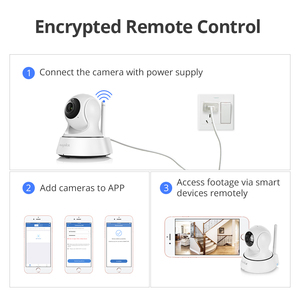 Image 5 - SANNCE 2K Home Security IP Camera Wi Fi Wireless Mini Network Camera Surveillance Wifi 3MP Night Vision CCTV Camera Baby Monitor