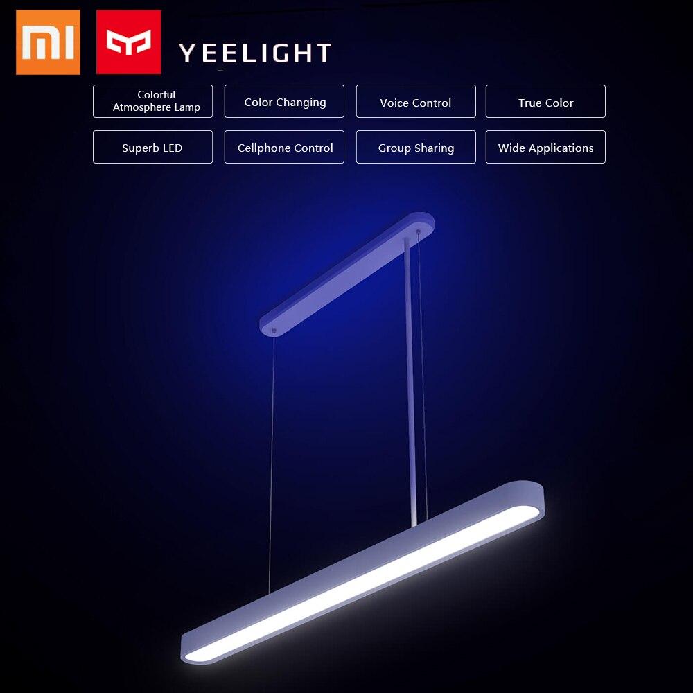 2019 Yeelight plafonnier pour Xiaomi Mijia météorite LED intelligent Restaurant lustre intelligent dîner plafonnier lumières travail