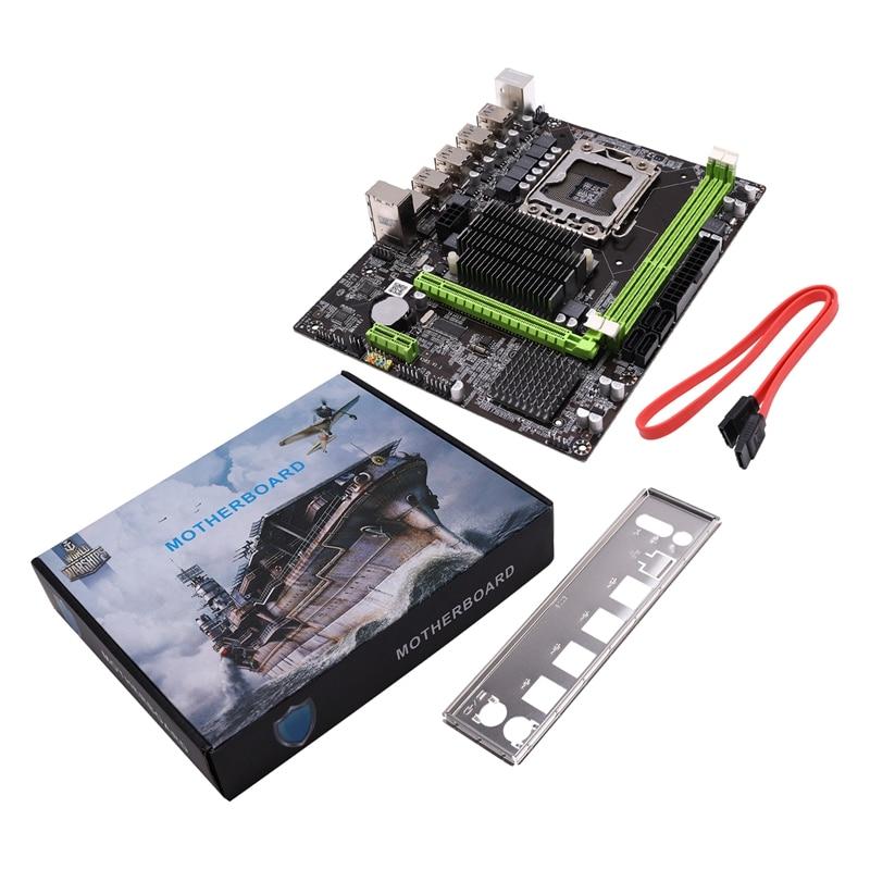 OPQ-X58S Motherboard Supports RECC Server Memory LGA1366 Quad-Core Six-Core 5570 CPU