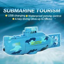 Mini RC Submarine Radio-Control Electric for Kids 360 Gift Boys Children 27/40mhz