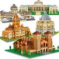 Diamant Stadt Architektur Taj Mahal Oxford Universität Burg Micro Bausteine Big Ben Cambridge London Paris Louvre Spielzeug