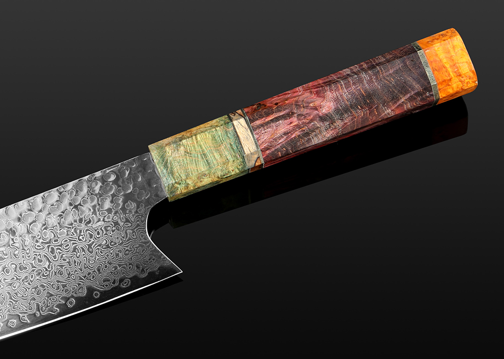 Hand Forged Sharp Damascus Kitchen Knives