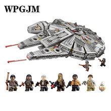 NEW 1381Pcs OLEKU Millennium Compatible Legoinglys Star Wars Set Bricks Models & Building Blocks Toys for Children Starwars lepin 05132 star destroyer millennium falcon compatible with legoinglys 75192 bricks model building blocks