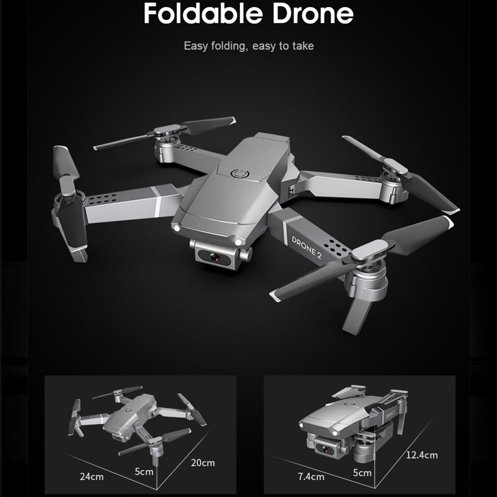2020 NEW E68 Drone HD wide angle 4K WIFI 1080P FPV Drones video live Recording Quadcopter Height To maintain Drone Camera Toys 3