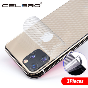 Image 2 - Back Film For Apple Iphone 11 pro Back Cover Matte Carbon Fiber Sticker For Iphone 11 Pro Max Iphone11 Back Screen Protector