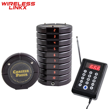 Wirelesslinkx Wireless Restaurant Buzzer Pager Customer Guest Paging Calling System for Church Clinic Quiz Food Court Truck