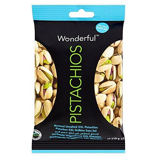 Wonderful XXL Pistachios - Roasted & Unsalted (115g) - Pack Of 2