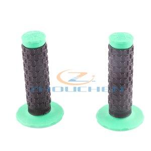 Image 3 - Off road motorrad geändert zwei farbe PRO weichen griff gummi griff gummi abdeckung schalten abdeckung slip gas abdeckung grip abdeckung