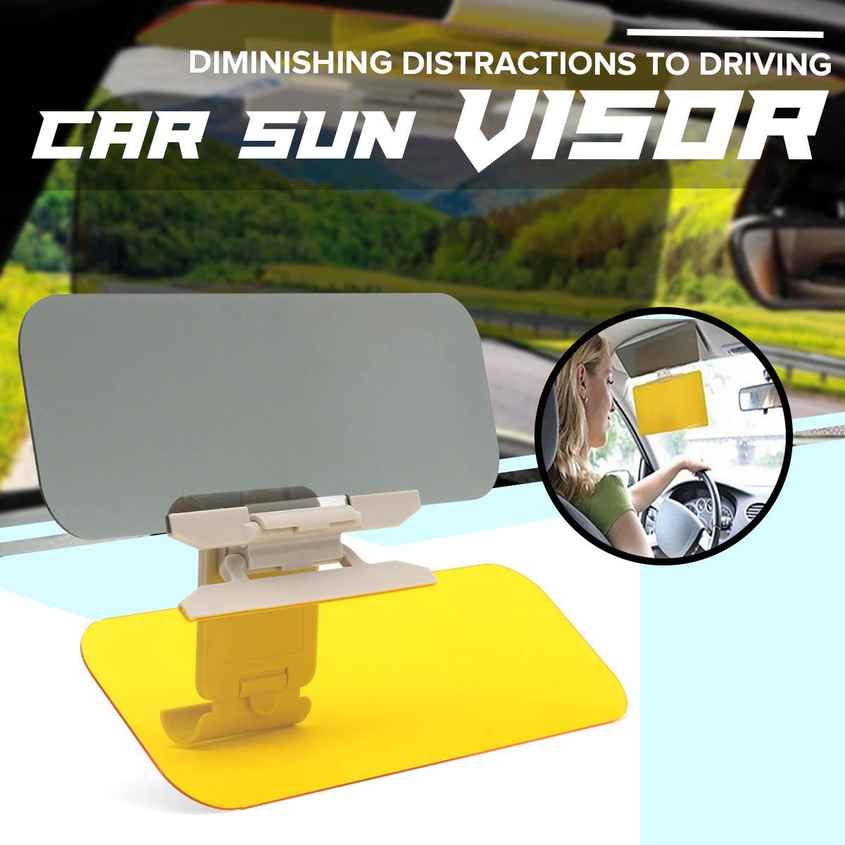 1Pc Flip Down Auto Car Sun Visor Anti-Glare Shield UV Block HD Driving Vision