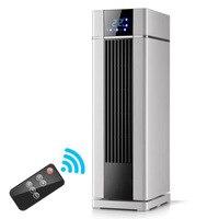 Casa aquecedor elétrico 220v controle remoto 8 horas cronometragem 1000/2000w aquecedor ptc termostato da máquina de aquecimento