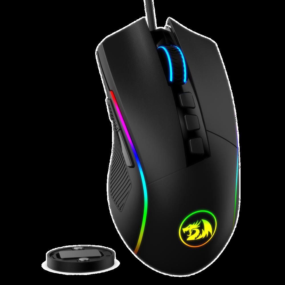 Redragon M721-Pro Lonewolf2 Gaming Mouse, 32,000 DPI Adjustable,  Comfortable Grip Ergonomic Optical PC Computer Gaming Mice