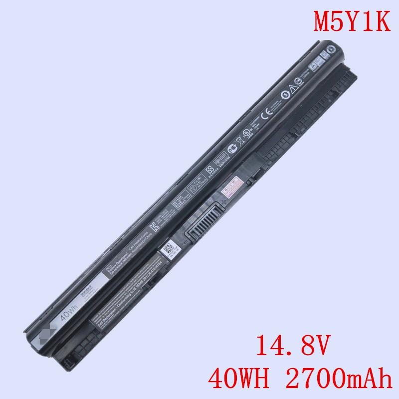 New Original M5Y1K Laptop Li-ion Battery KI85W INS14UD For DELL 15 3552 5458 5559 5552 3567 Series 14.8V 40WH 2700mAh