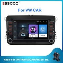 Essgoo 7 ''Autoradio 2din Android Auto Radio Gps Navigatie Bluetooth Wifi Voor Volkswagen Voor Vw Voor Skoda Voor Golf voor Polo Auto 'S