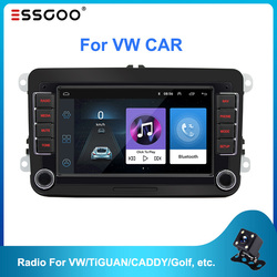 Essgoo 7'' Autoradio 2din Android Car Radio Gps Navigation Bluetooth Wifi For Volkswagen For Vw For Skoda For Golf For Polo Cars