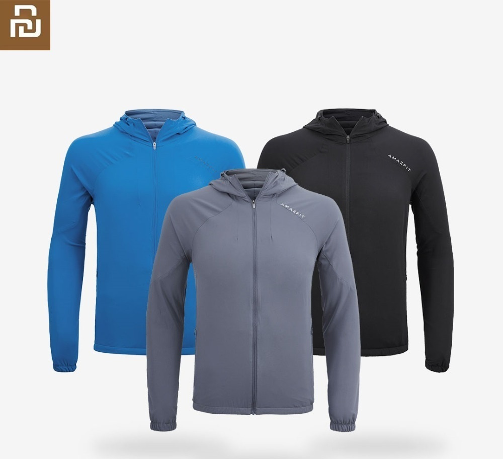 Xiaomi New skin Windbreaker Sunscreen breathable thin Water repellent Sun protection clothing Outdoor sports jacket