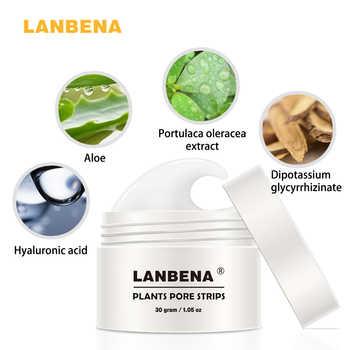 LANBENA Blackhead Remover Nose Mask Pore Strip Black Mask Peeling Anti Acne Treatment Blackhead Deep Cleaning Skin Care