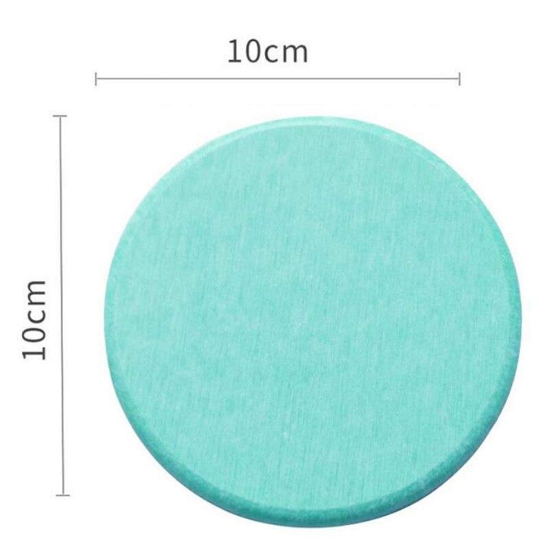 Diatom Mud Coaster Бытовая диатомовая земля умывальник посуда для напитков аксессуары для бусин квадратный круглый водонепроницаемый абсорбирующий Coaster - Цвет: D1