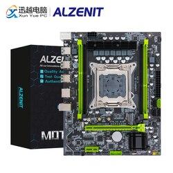 Материнская плата ALZENIT X79M-CE5, Intel C602 X79 LGA 2011 Xeon E5 ECC REG DDR3 128 ГБ M.2 NVME NGFF SATA3.0 USB3.0 Серверная материнская плата