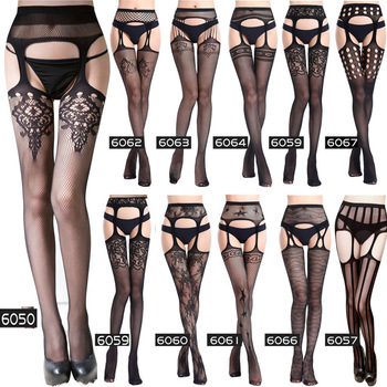 Woman Sex Costumes Bondage Fishnet Stockings Sexy Lingerie langerie mujer Porno Erotic Pantyhose Sexy Underwear Plus Size image