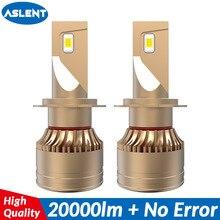 ASLENT 60W 20000LM Car Headlight No Error h7 led canbus H4 LED H8 H11 Fog lights HB3 9005 HB4 9006 9012 H1 Auto Headlamp 12V