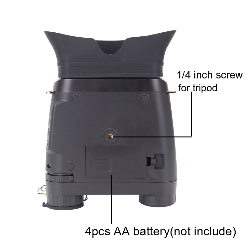 Image 5 - WILDGAMEPLUS NV200C Infrared Night Vision Binoculars Telescope 7X21 Zoom Digital IR Hunting Night Vision Goggles Optical Hunter-in Monocular/Binoculars from Sports & Entertainment on