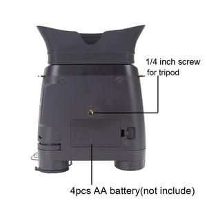 Image 5 - WILDGAMEPLUS NV200C Infrared Night Vision Binoculars Telescope 7X21 Zoom Digital IR Hunting Night Vision Goggles Optical Hunter