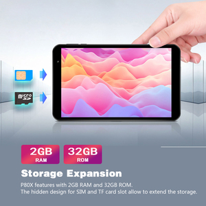 Image 3 - Teclast P80X 4G планшет Android 9,0 нетбук фаблет Планшеты 8 дюймов 1280x800 SC9863A Восьмиядерный 2 Гб RAM 32 ГБ ROM GPS Двойная камера