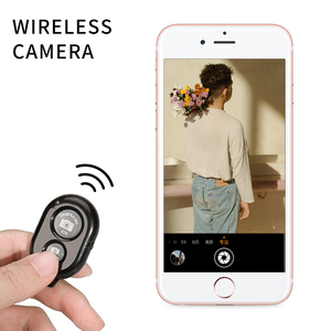 Image 4 - Wireless Shutter Remote Control Phone Self Timer Button Shutter Selfie Release Button Controller Adapter Photo for Android IOS