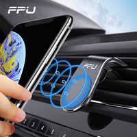 FPU Auto Telefon Halter Für Telefon In Auto Mobile Unterstützung Magnetische Handy Halterung Ständer Für Tablets Und Smartphones Suporte Telefone