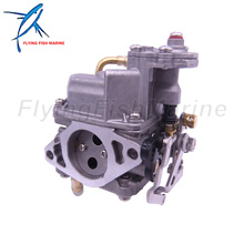 Outboard Engine 853720T15 853720T21 8M0109535 Carburetor Assembly for Mercury Mariner Boat Motor 4-stroke 15HP, Remote Model