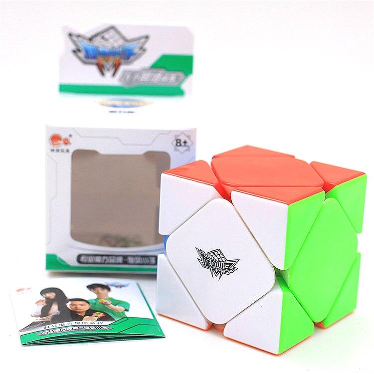 Циклон для мальчиков 3x3x3 магнитные Кубы Skewb профессиональные 2*2*2 магнитные магические скоростные кубики извивающийся пазл обучающие игрушк...