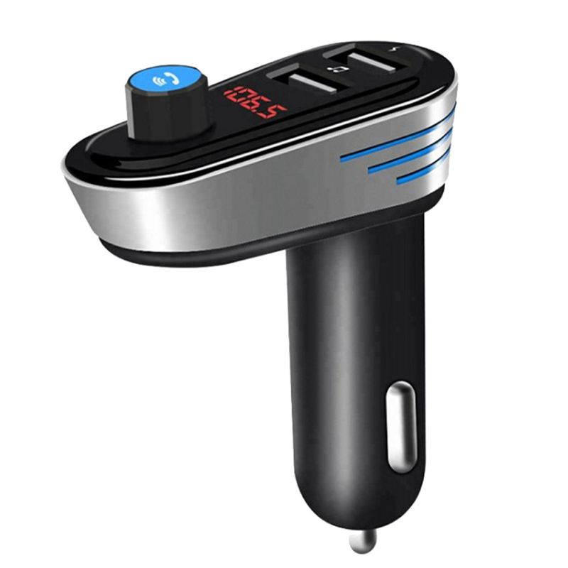New Dual USB Car Charger Bluetooth Handsfree Car MP3 Player FM Signal Transmitter Stereo Bluetooth FM Transmission Technology!